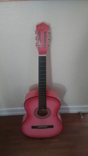 Pink Bc Guitar for Sale in Las Vegas, NV