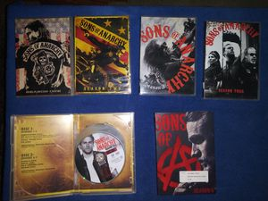 Sons of Anarchy Seasons 1-6 full sets. for Sale in Millbrook, AL