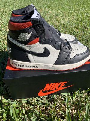 Jordan 1 not for resale size 8.5 for Sale in Miami, FL