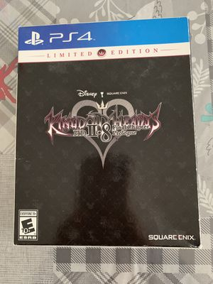 PS4 Kingdom Hearts limited edition for Sale in Herndon, VA