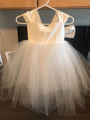 STUNNING HANDMADE COUTURE Flower Girl Dress size 12 months from Etsy for Sale in Monrovia, CA