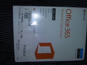 OFFICE 365 PERSONAL 1 YEAR $20 for Sale in Kenneth City, FL