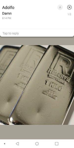 Scottsdale Reserve 1 Kilo .999 Fine Silver Bar for Sale in Spring Hill, FL