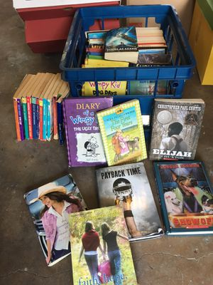 CHILDRENS BOOKS! K-6th grade from teacher's library for Sale in Dallas, TX