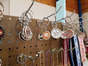 Bottlecap Keychains and necklaces for Sale in Stilwell, OK