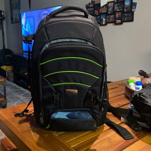 Camera Backpack Like New Condition + Rain Guard! for Sale in Los Angeles, CA