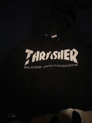 Black thrasher hoodie small for Sale in Rowlett, TX