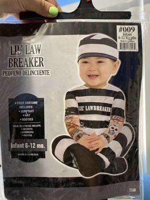 Halloween custom (lil' lawbreaker) 6-12 months for Sale in Coral Gables, FL
