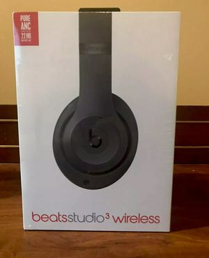 New Beats Studio 3 Wireless Headphones Black for Sale in Livermore, CA