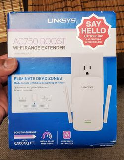 Links RE6300 Wi-Fi Extender - 6500 SQ.FT Coverage for Sale in Edison, NJ