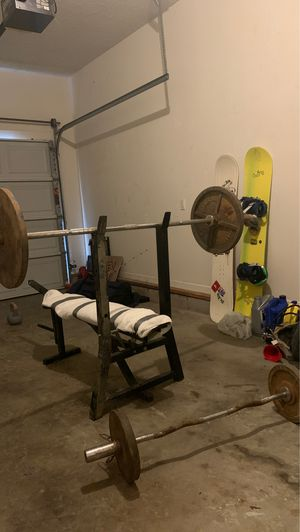 Weight bench set for Sale in Murfreesboro, TN