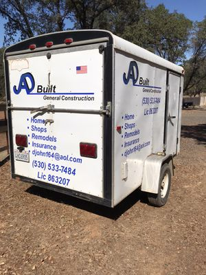 6x10 Cargo trailer for Sale in Oroville, CA