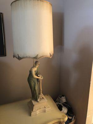 Antique ceramic figurine lamps (2) for Sale in Pembroke Pines, FL
