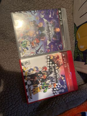 Kingdom hearts ps3 PlayStation 3 for Sale in Fontana, CA