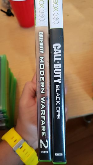 Modern Warfare 2, Black Ops, Xbox 360 games for Sale in Bethesda, MD