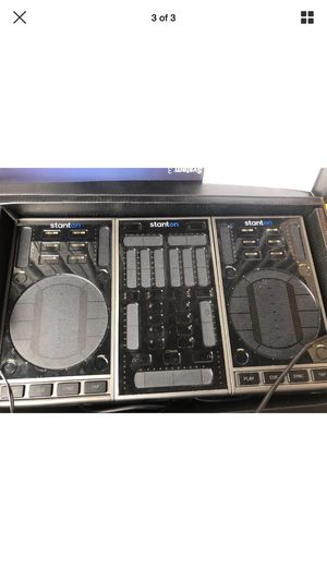 Staton portable DJ with virtual DJ code for Sale in Hialeah, FL