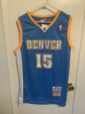 Carmelo Anthony #15 blue Denver nuggets jersey for Sale in San Fernando, CA