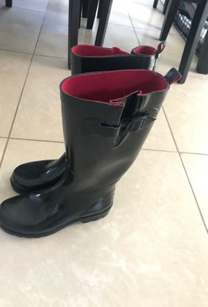 Women's rain boots size 7 for Sale in San Bernardino, CA