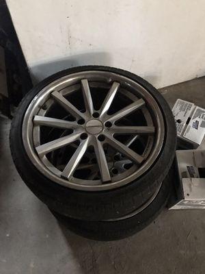 Vossen wheels 5x114.3 for Sale in Methuen, MA