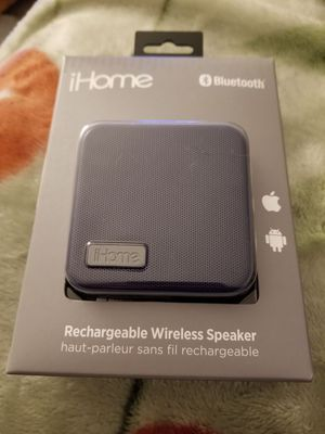 Bluetooth Rechargeable Wireless Speaker From iHome for Sale in Cambridge, MA