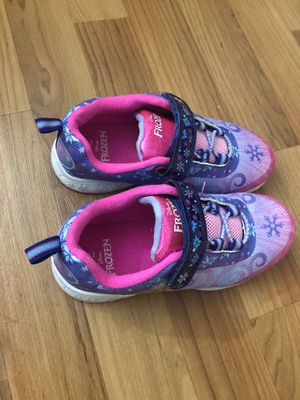 Disney frozen shoes for kids size 12 for Sale in Sherborn, MA