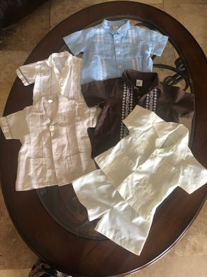 Chacabana shirts for Kids boy clothes 3 months / 6 months / 12-18 months for Sale in Brandon, FL