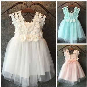Baby girl party lace tulle flower grow fancy dress. for Sale in Homestead, FL