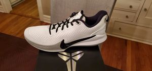 Nike Kobe Mamba Focus AT1214-100 White Black Wolf Grey Basketball Shoes Sz 13 NIB for Sale in LA CANADA FLT, CA