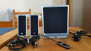 HP computer speakers (includes subwoofer) for Sale in Fort Lauderdale, FL