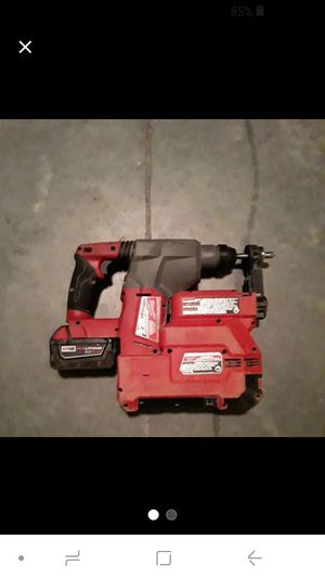 Milwaukee hammervac drill for Sale in Charlotte, NC