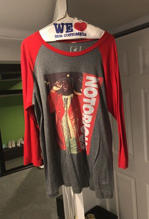 Notorious BIG BASEBALL TEE for Sale in University City, MO