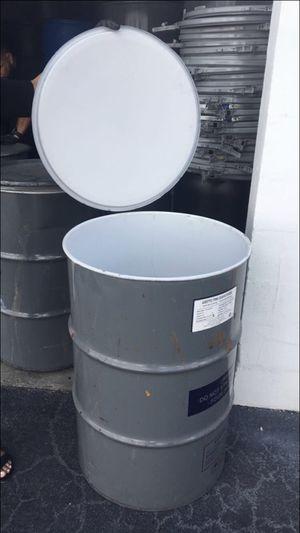 55 gallon metal barrel for Sale in Miami, FL
