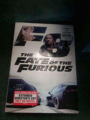 New Fast n furious dvd 10buxs for Sale in Delaware, OH