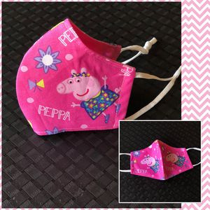 Peppa Pig Cloth Face Mask in Pink for Kids for Sale in Grand Prairie, TX