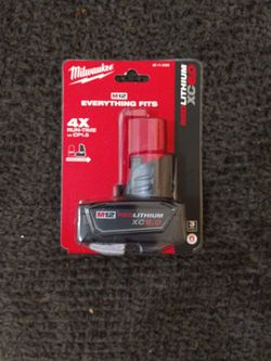 Milwaukee M12 6.0 Battery for Sale in Hialeah,  FL