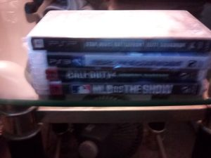 Ps3 games+psp game for Sale in Hayward, CA