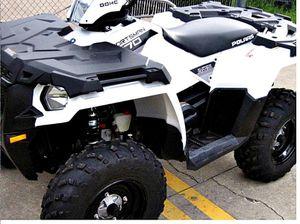 Atv runs great 2014 Polaris Sportsman 4WD/Wheelsss Nice for Sale in Hialeah, FL