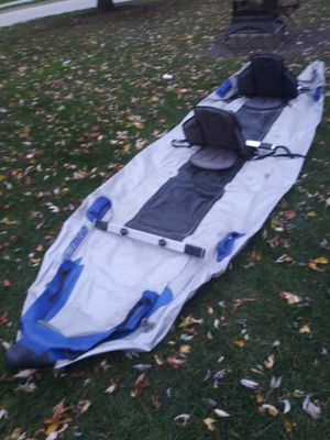 Boat inflatable catamaran kayak Sea Eagle 395 PS for Sale in Sterling Heights, MI