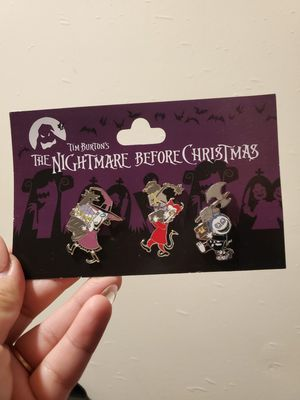 Nightmare before Christmas pin set for Sale in Torrance, CA