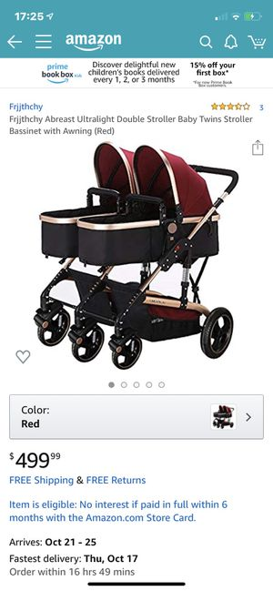 Baby Tiwe Stroller Bassinet With Awning for Sale in Baldwin Park, CA