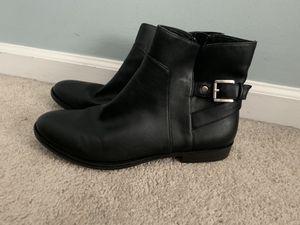Black biker boots for Sale in Ashburn, VA