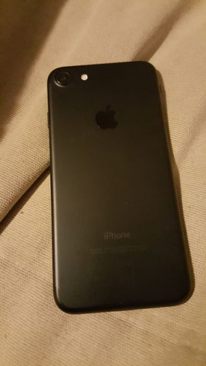 Black iPhone 7 for Sale in Garden Grove, CA