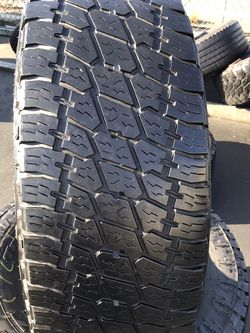 35x12.50r17 Nitto Terra Grappler A /T for Sale in Whittier,  CA
