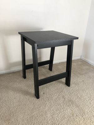 Black Wooden End Table for Sale in Town and Country, MO