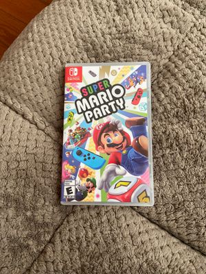 NINTENDO SWITCH SUPER MARIO PARTY for Sale in Downey, CA