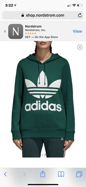 Adidas women hoodie size L, new inbox for Sale in Brookline, MA