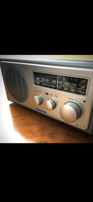 Sangean AM/FM Radio with Manual for Sale in Midlothian, VA