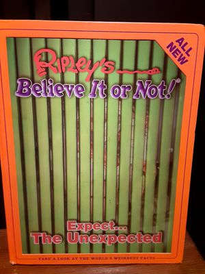Ripley's Believe It Or Not... Expect The Unexpected Book for Sale in Baldwin Park, CA
