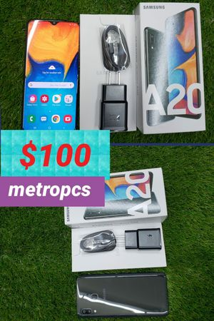 Samsung Galaxy A20 32GB Metropcs Brand New open box for Sale in Citrus Heights, CA