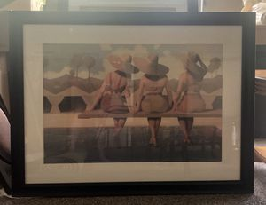 3' x 4' Three Girls at the Pool for Sale in New Braunfels, TX